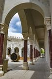 Marble Arcade Patio, Rabati, Akhaltsikhe, Georgia, May.2017. Marble Arcade Patio. Reconstructed Castle, Architectural and Historical Heritage, Rabati Royalty Free Stock Images