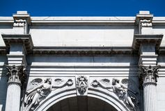 Marble Arch Royalty Free Stock Images