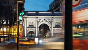 Marble Arch royalty free stock photography