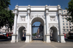 Marble Arch front Royalty Free Stock Image