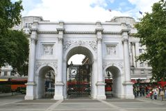 Marble Arch, London, England, UK Stock Photos