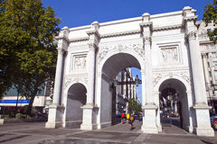 Marble Arch in London Stock Photos
