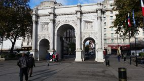 Marble Arch London Stock Photo