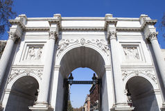 Marble Arch in London Royalty Free Stock Image