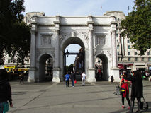 Marble Arch  Royalty Free Stock Photo