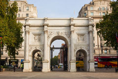 Marble Arch in London Stock Images