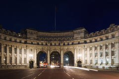 Marble arch during twilight Royalty Free Stock Image