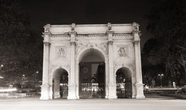 Marble Arch viewed from north Stock Photography