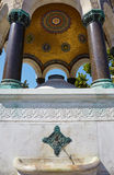 The marble arches of German Fountain, Istanbul Royalty Free Stock Image