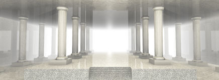 Marble Architecture Stock Photo