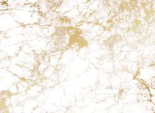 White Marble background with golden texture. Marble background with golden texture stock illustration