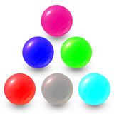 Marble ball Stock Photo