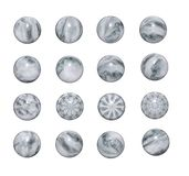 Marble balls. The set of balls of marble( you can give out pearls Stock Image