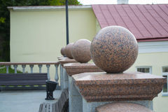 Marble balls Stock Photography