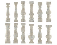 Free Marble Baluster. Various Types And Styles Stock Photo - 36407610