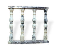 Marble balusters Royalty Free Stock Image