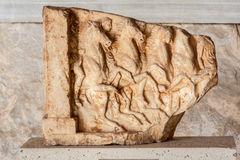 Marble Bas Relief Agora Museum Athens Stock Photos
