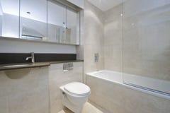 Marble bathroom Stock Photo