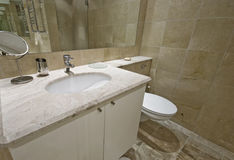 Marble bathroom Stock Images