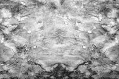 Marble black and white texture Royalty Free Stock Photography