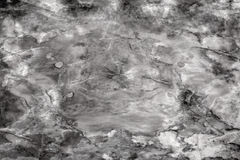 Marble black and white texture Stock Photography