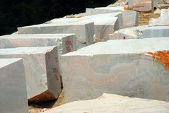 Marble block Stock Photos