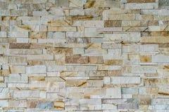 Marble block wall Stock Image