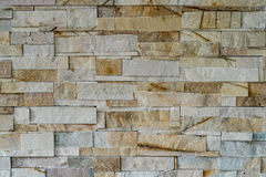 Marble block wall Stock Photography
