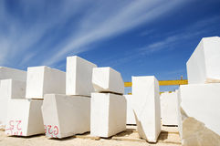 Marble blocks 1 Stock Photo