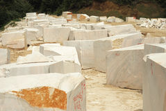 Marble blocks Royalty Free Stock Image