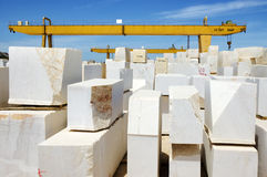 Marble blocks 5 stock images