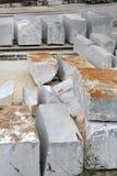 Marble blocks Royalty Free Stock Photo