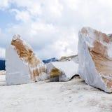 Marble blocks Stock Image