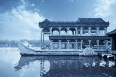 Marble boat Royalty Free Stock Photo