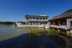Marble boat Stock Photos