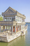 The Marble Boat of Purity and Ease, Summer Palace Royalty Free Stock Photos