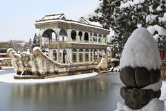 The Marble Boat ,The Summer Palace,China Royalty Free Stock Photos