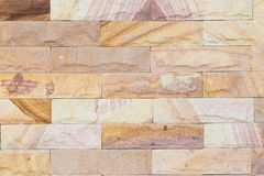 Marble brick wall Royalty Free Stock Images