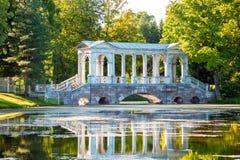 Marble Bridge, St Petersburg, Russia Royalty Free Stock Photo