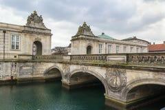 The Marble Bridge, Copenhagen Royalty Free Stock Image