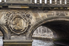 The Marble Bridge, Copenhagen Royalty Free Stock Photography