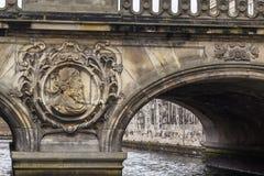 The Marble Bridge, Copenhagen Royalty Free Stock Photography