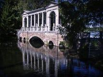 Marble bridge stock image