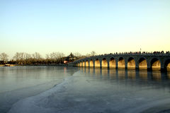 Marble bridge Royalty Free Stock Images