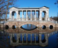 Marble bridge Stock Image