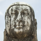 Marble buddha head Stock Photos
