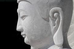 Marble Buddha Head Royalty Free Stock Images