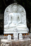 Marble Buddha Statue Royalty Free Stock Photo
