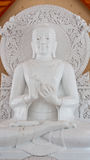 Marble Buddha Statue Royalty Free Stock Photo
