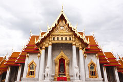 Marble Buddhist Church Stock Photo
